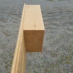 "Pine 8"" Log Corner"