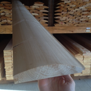 "8"" Pine Log Siding"