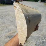 White Cedar Log Siding