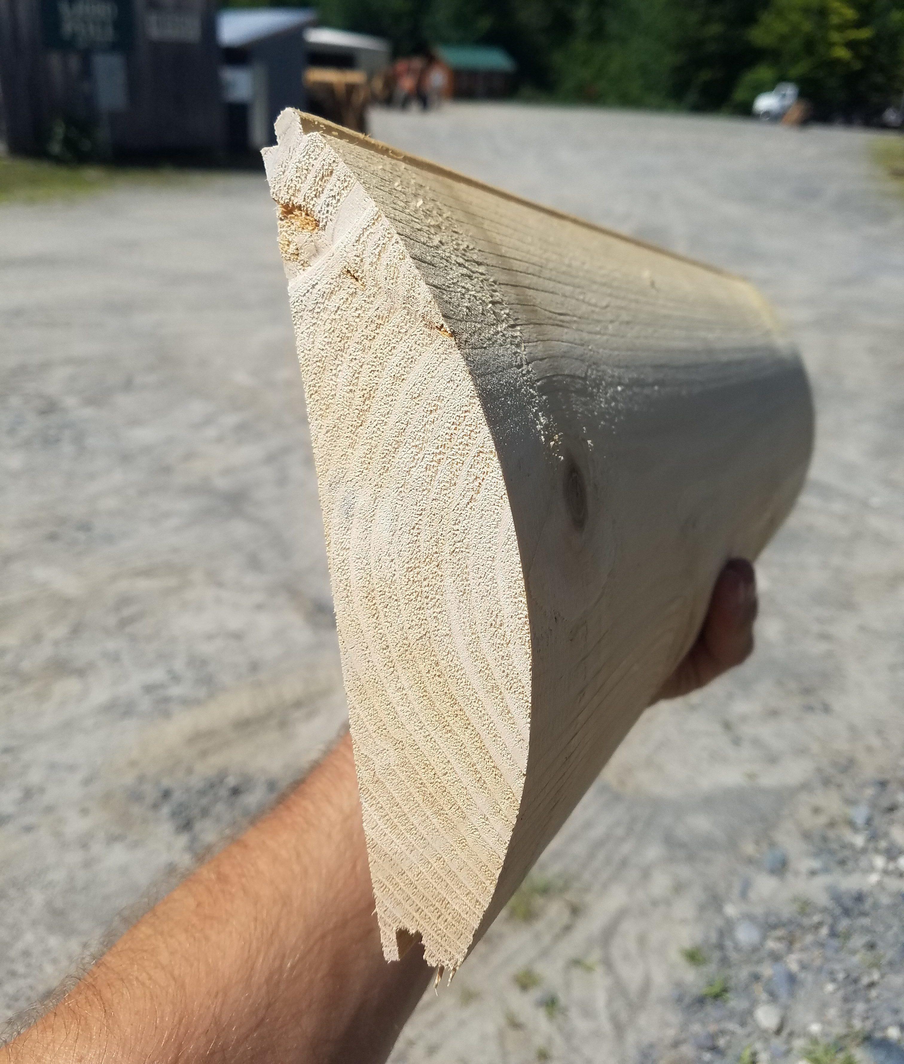 """Cedar 8"""" Log Siding"""